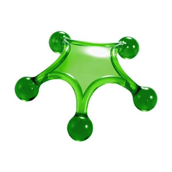 Body massager in green