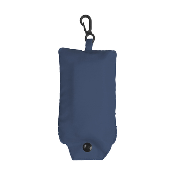 Foldable shopping bag in blue