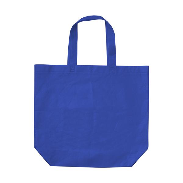 Shopping bag, non-woven  in blue