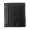 Leather Charles Dickens® wallet. in black