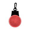 Safety reflector in red
