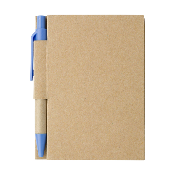 Small notebook in light-blue