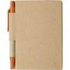 Small notebook in orange