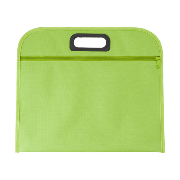 Conference bag. in lime