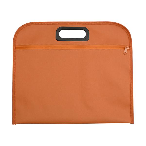 Conference bag. in orange