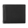 Leather Charles Dickens® wallet. in black