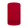Pocket mirror and file. in red