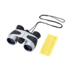 Binoculars. 4 x 30 magnification. in black-and-silver