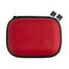 16 pc First aid kit. in red