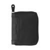 Leather Charles Dickens® credit card holder. in black
