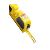 Tape measure and laser, 2m in yellow