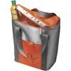 Cooler bag for six bottles in orange