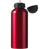 Metal drinking bottle in red