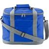 Cooler bag in cobalt-blue