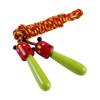 Skipping rope in light-green