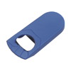 Bottle opener, plastic  in blue