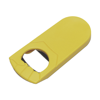 Bottle opener, plastic  in yellow