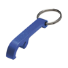 Key holder and bottle opener in blue