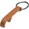 Key holder and bottle opener in orange