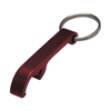 Key holder and bottle opener in red