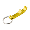 Key holder and bottle opener in yellow