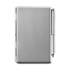 Business card holder in silver