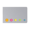 Self adhesive memos in silver