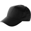 Cap with sandwich peak in black