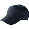 Cap with sandwich peak in blue