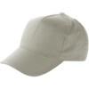 Cap with sandwich peak in grey