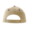 Cap with sandwich peak in khaki