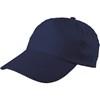 Cap, cotton twill in blue