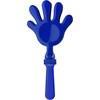 Plastic hand clapper in cobalt-blue