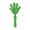 Plastic hand clapper in light-green