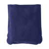 Inflatable travel cushion in blue