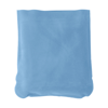 Inflatable travel cushion in light-blue
