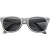 Classic fashion sunglasses in silver