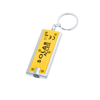 Portland Keyring Torch in yellow