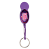 Shopper Trolley Coin Keyring in purple