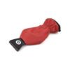 Glazier Plastic Ice Scraper in red