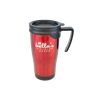 Dali Colour Travel Mugs in red