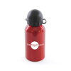 Augusta 350Ml Aluminium Sports Bottle in red