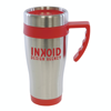 Oregan Travel Mugs in red