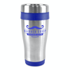 Ancoats 450Ml Double Walled Stainless Steel Tumbler in blue