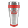 Ancoats 450Ml Double Walled Stainless Steel Tumbler in red