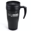Polo Plus Travel Mugs in black