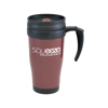 Polo Plus Travel Mugs in burgundy