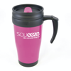 Polo Plus Travel Mugs in pink