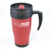 Polo Plus Travel Mugs in red