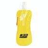 Fold up bottle in yellow